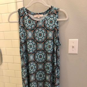 Loft shift dress